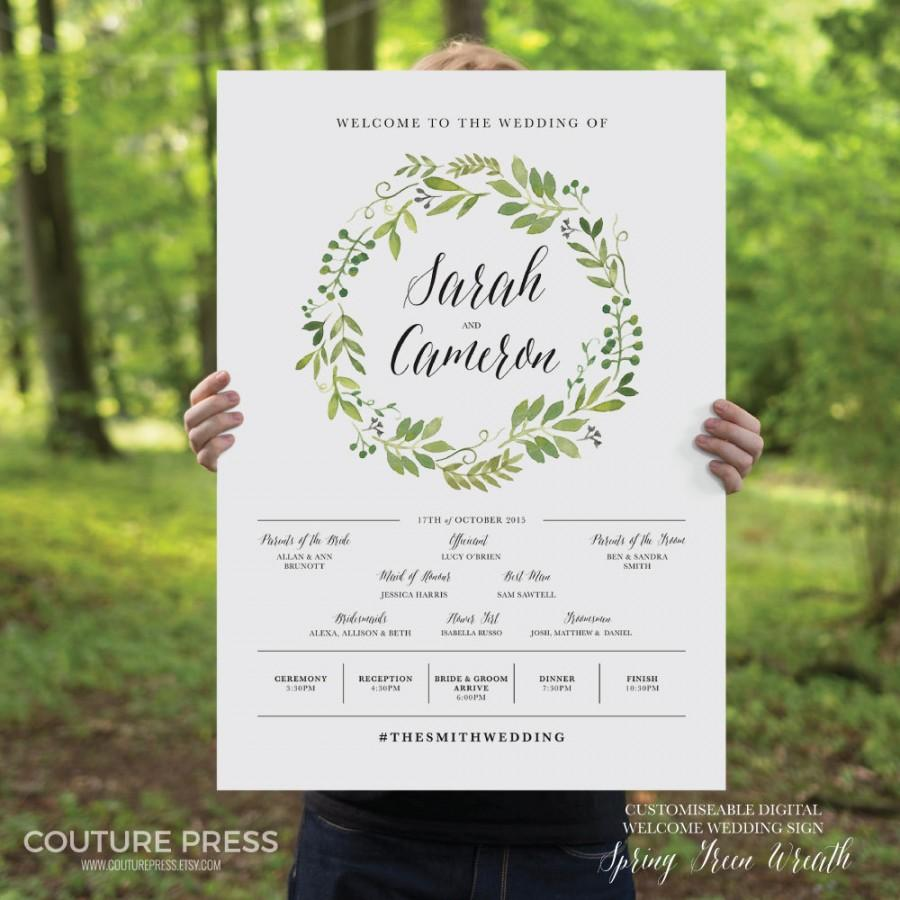 printable-wedding-welcome-sign-watercolor-rustic-whimsical-diy-printable-sign-wedding-signage-spring
