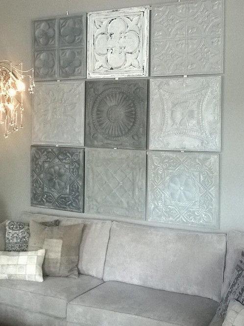 Pressed Ceiling Blocks