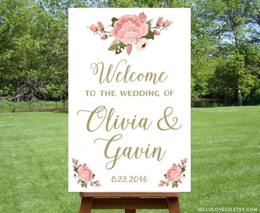 printable-large-wedding-welcome-sign-personalized-wedding-sign-reception-entrance-sign-floral-pink-p
