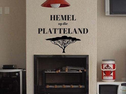 Vinyl: Platteland