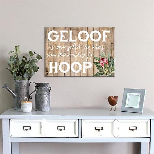 Inspirational: Geloof & Hoop