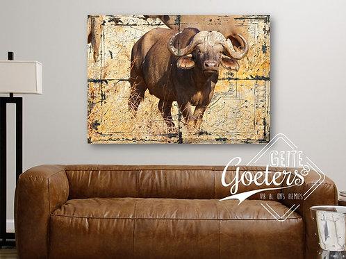 Rustic Tile Bull