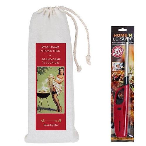 Valentine bag and lighter