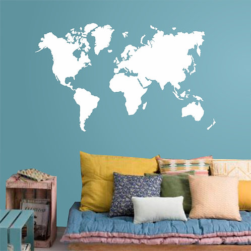 Large Wa032 - World Map