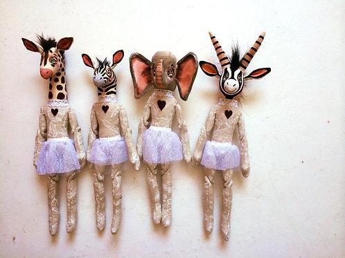 Giraffe Soft toy decor