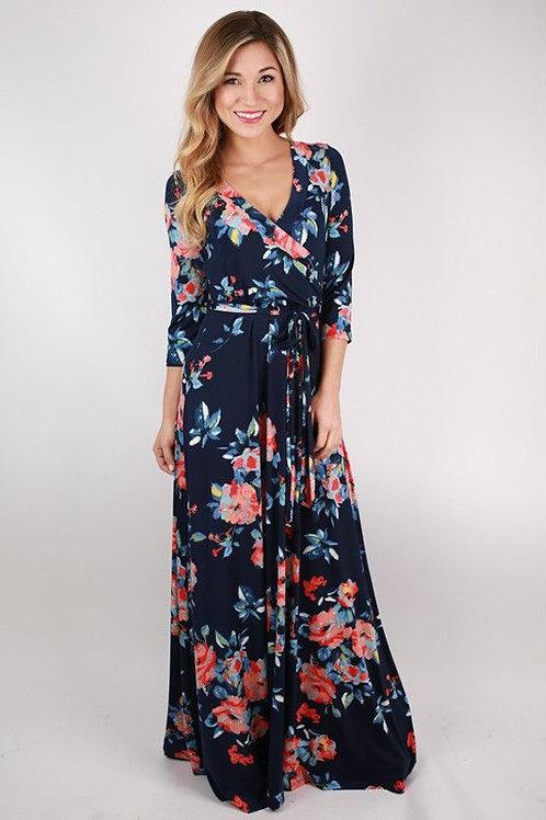 Eksklusiewe Reeks: Rozelle wrap dress
