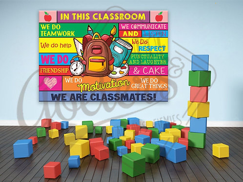 Classroom rules A3
