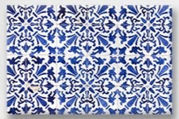 2020 Spanish Royal Blue Set of 4 Vinyl Placemat