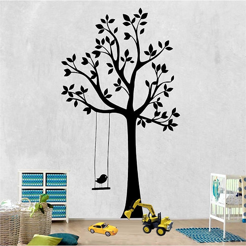 Swing tree with Bird
