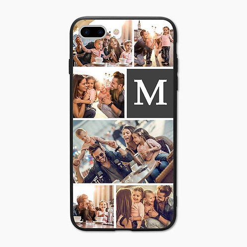 Phone Case: Photo and Initial