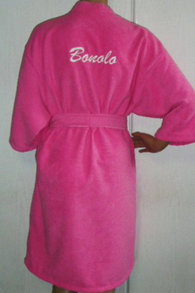 Towelling robe