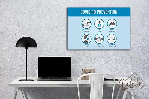 Covid 19 Prevention Print