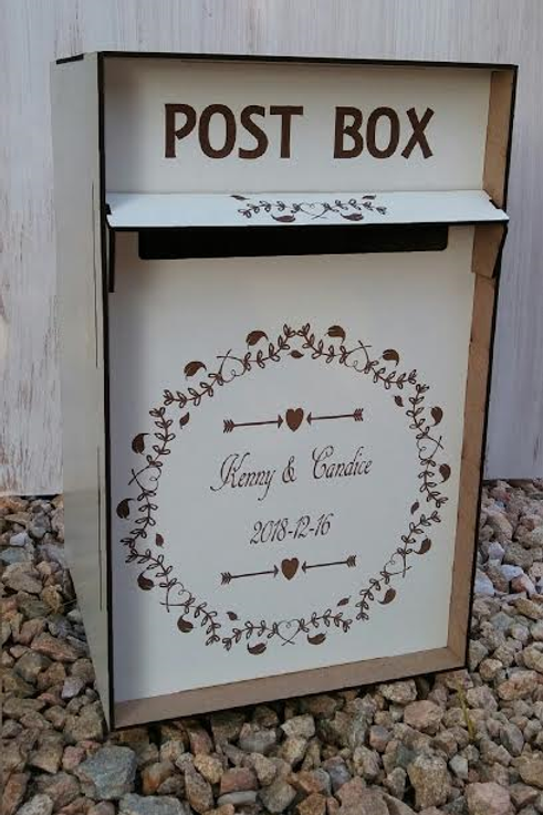 Post box 25 x 25x 40cmHigh