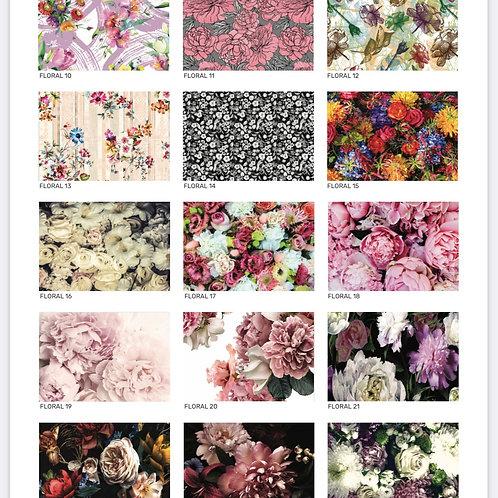 2021 Floral Range coasters