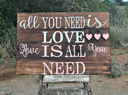 A3 All you need is love