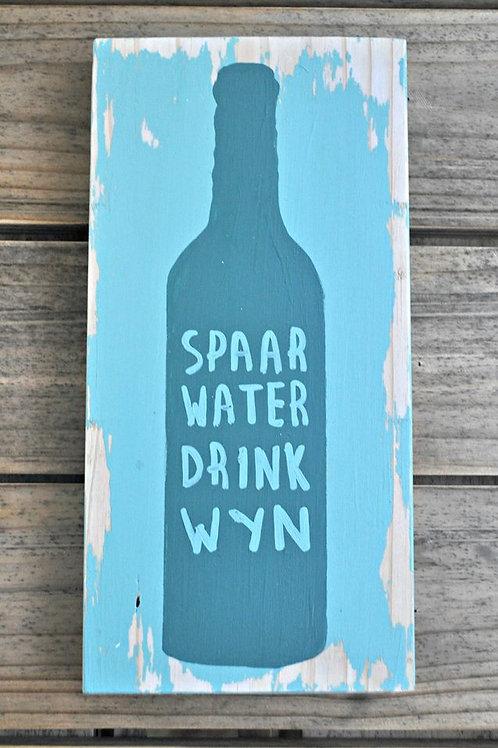 Wyn & water Combo