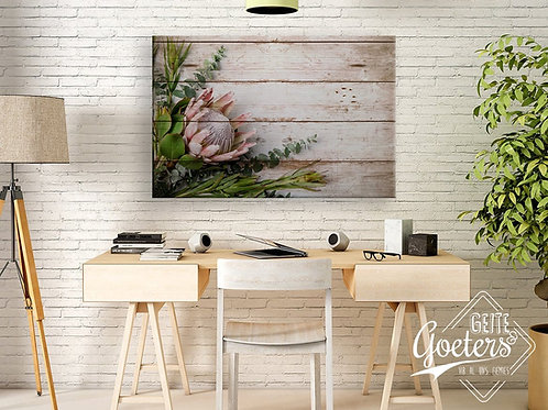 2020 Rustic Protea Light pink Leaves