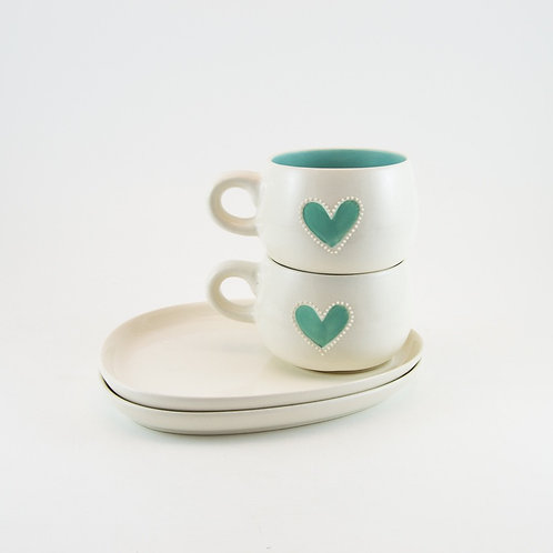 Cup & Saucer Set (2) – Candy Love