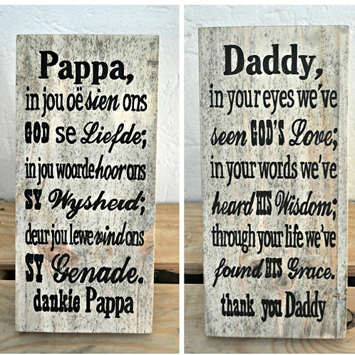 Pappa / Daddy
