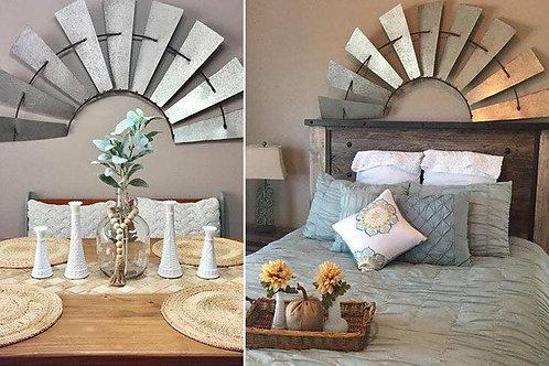 Windmill Bed / wall decor
