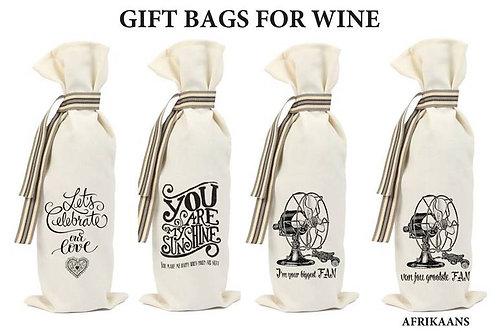 Liefde/Love Wine Bag