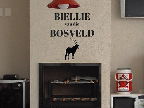 Vinyl: Bielie van die Bosveld