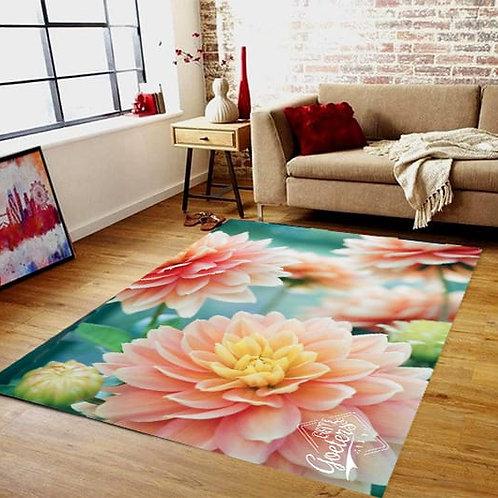 Colour Floral Rug