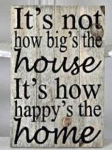 Not how big's the House - Small
