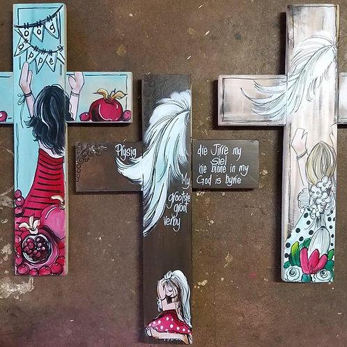 Hand Painted Cross