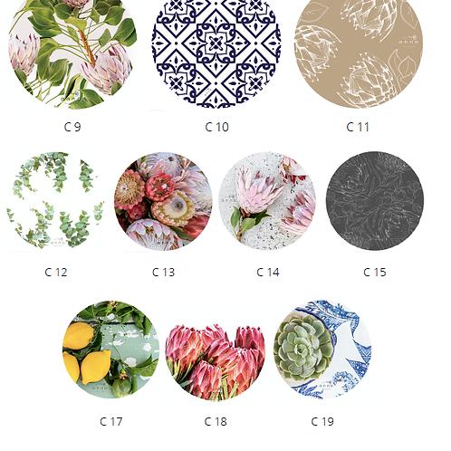 Coasters set of 4 - Ceramic