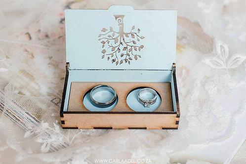 Ring box  11 x 6 x 3cm