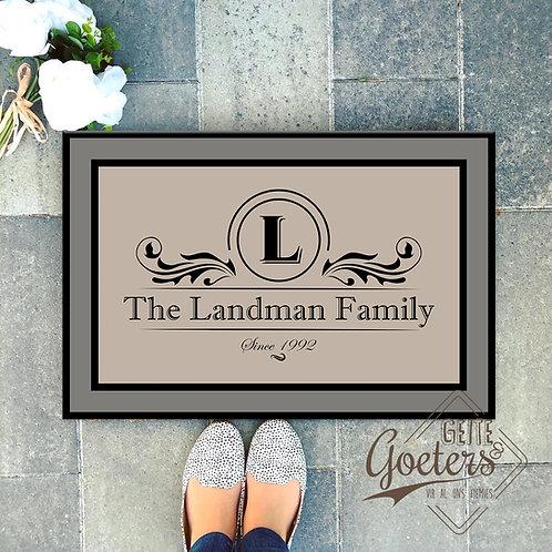 Family Name Rug 2