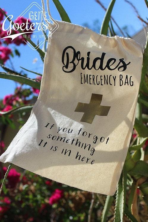 Custom Cotton drawstring bag - A5