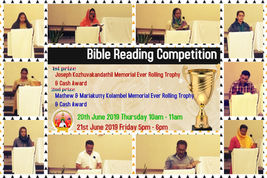 Bible Reading Competition 2019