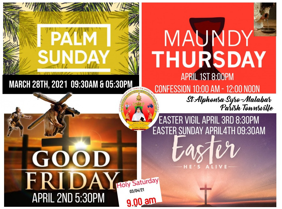 Copy of Holy Week Flyer - Made with Post