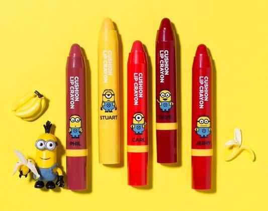Missha x Minions Cushion Lip Crayon