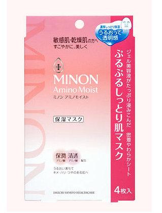 MINON 氨基酸保濕面膜 (4片裝)