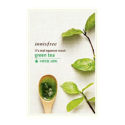Innisfree IT'S REAL SQUEEZE MASK - GREEN TEA