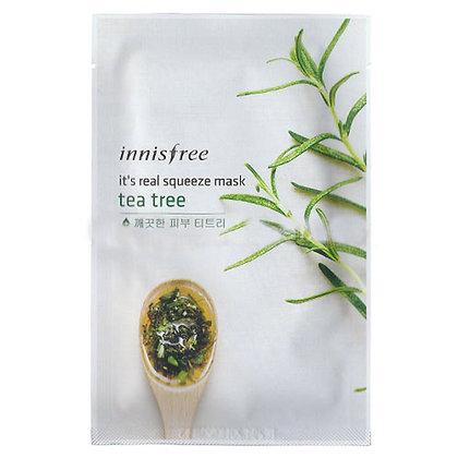 Innisfree It's real 鮮潤面膜 - 茶樹