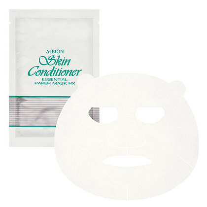 ALBION skin conditioner mask