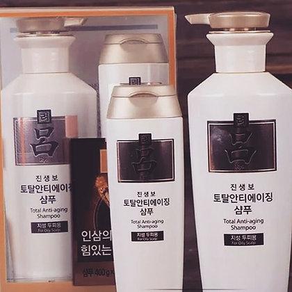 RYO Total Anti-aging Shampoo for Oily 400ml*180ml