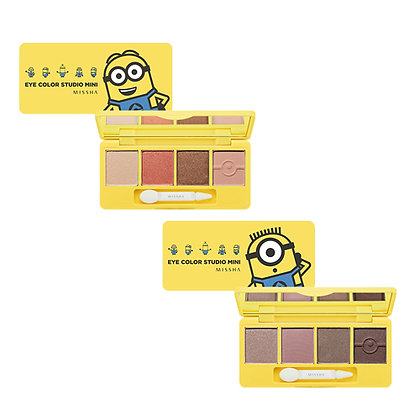 Missha x Minions Eye Color Studio Mini