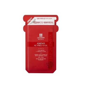Leaders Mediu Amino AC-Free Mask - Red