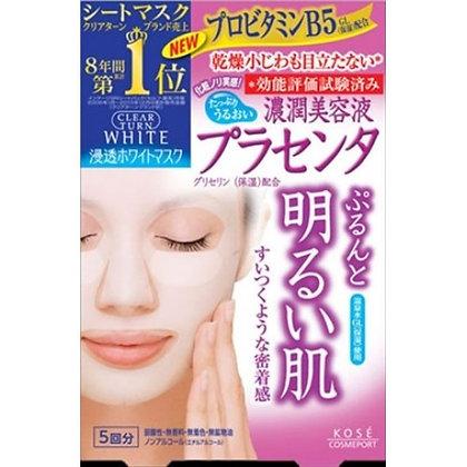 KoseCLEAR TURN White Mask (Placenta)