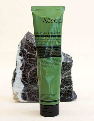 Aesop Geranium Leaf Body Scrub Tube