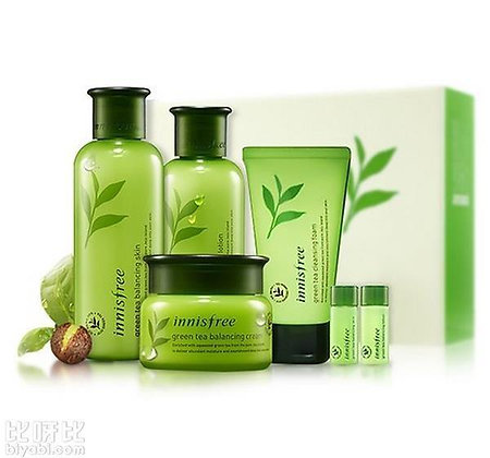Innisfree Greentea Balancing Skin Care 3items Special Set