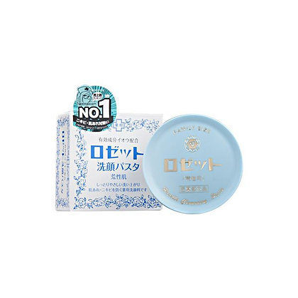 ROSETTE Facial Cleansing Paste - Blue Color