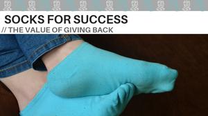donating socks socks for success