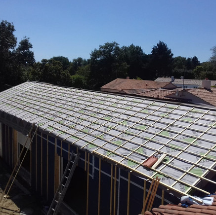 Le toit est waterproof !