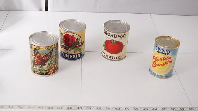 Advertising Olney & Floyd Sweet Corn Can